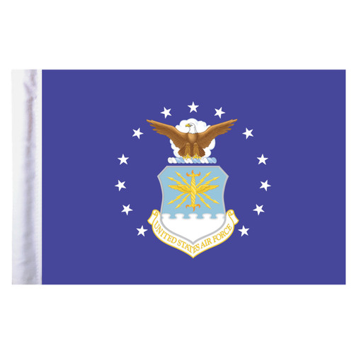 "Air Force Motorcycle Flag - 6"" x 9"""