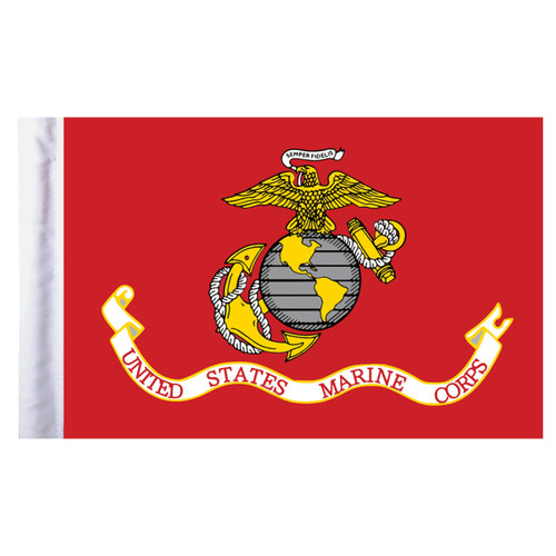 "Marine Corps Motorcycle Flag - 6"" x 9"""