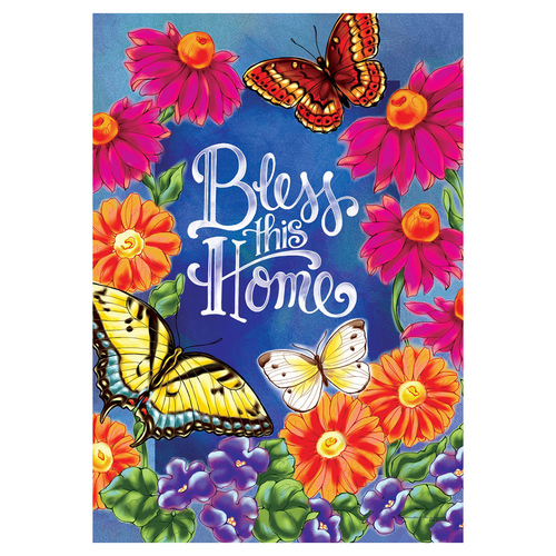 Everyday Banner Flag - Bless This Home