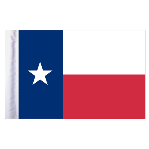"Texas Parade Motorcycle Flag - 10"" x 15"""