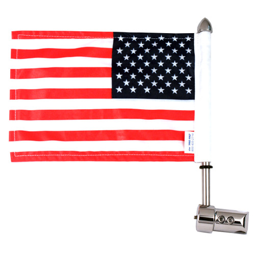 Highway Sissy Bar Motorcycle Flag Mount - 5/8""
