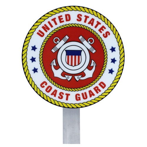 US Coast Guard Grave Flag Holder