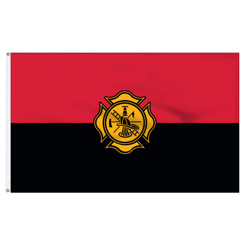 Fireman Remembrance Flag 3ft x 5ft Nylon