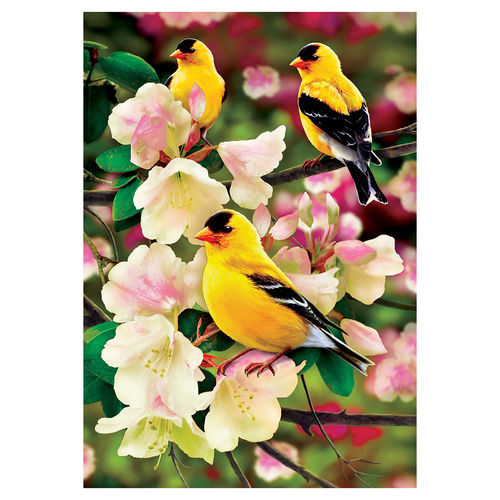 Spring Banner Flag - Goldfinch Gathering