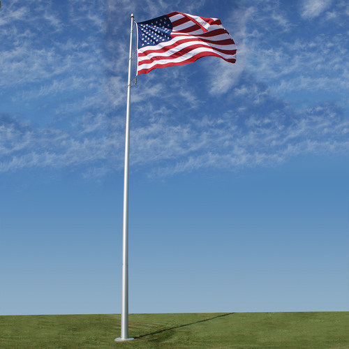 Deluxe IH Series 40ft Flagpole - EC40IH