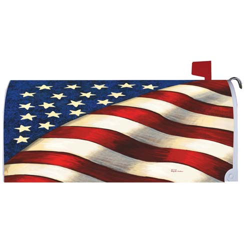 Magnetic Mailbox Cover - Stars & Stripes