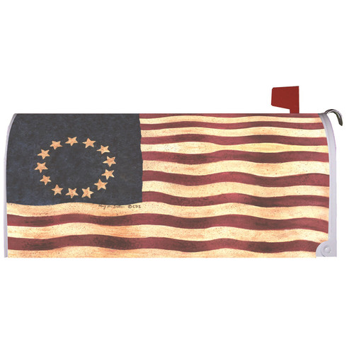 Betsy Ross Magnetic Mailbox Cover