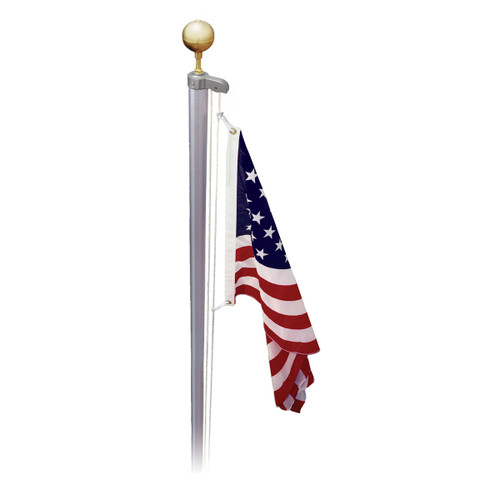 Online Stores Classic Sectional 13ft to 21ft Flag Pole - US Made