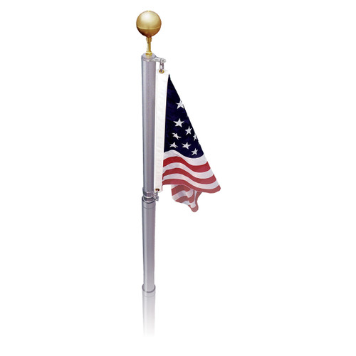 Online Stores Telescoping 17ft or 21ft Flagpole - US Made