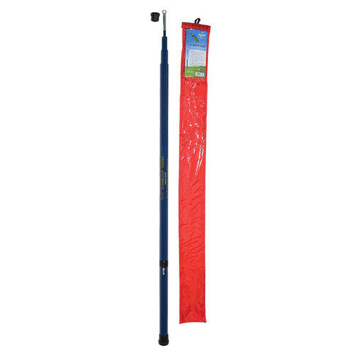 Heavy Duty Telescoping Windsock Pole - 13ft