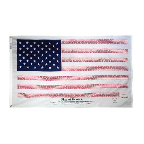 Flag of Heroes 3ft x 5ft Nylon