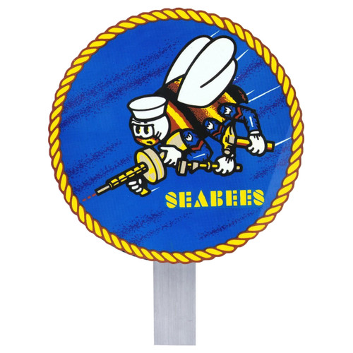 Seabees Grave Flag Holder