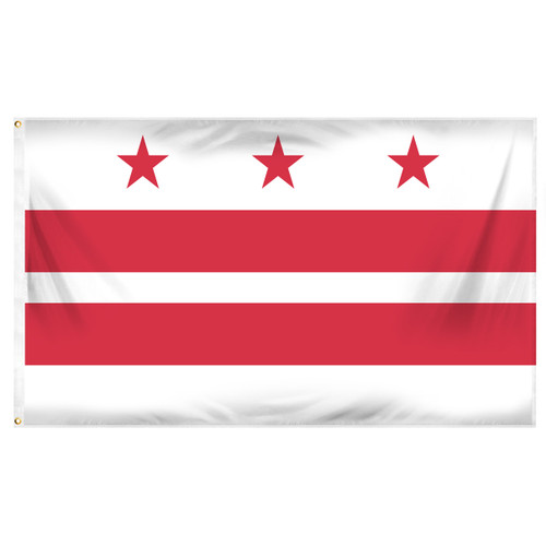 Washington D.C. Flag 3ft x 5ft Printed Polyester