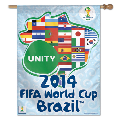 FIFA World Cup Unity Banner Flag