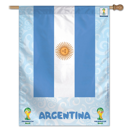 FIFA World Cup Team Argentina Banner Flag