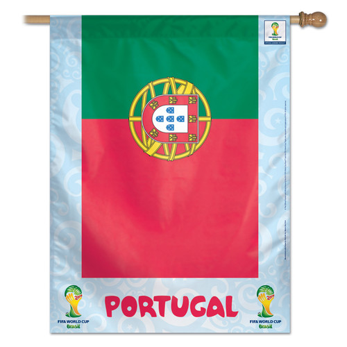 FIFA World Cup Team Portugal Banner Flag
