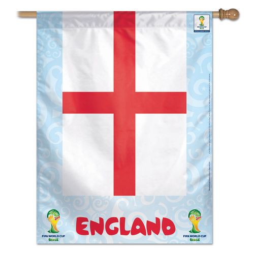FIFA World Cup Team England Banner Flag