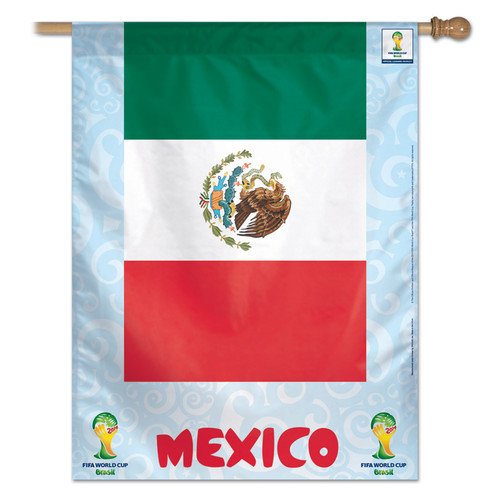 FIFA World Cup Team Mexico Banner Flag