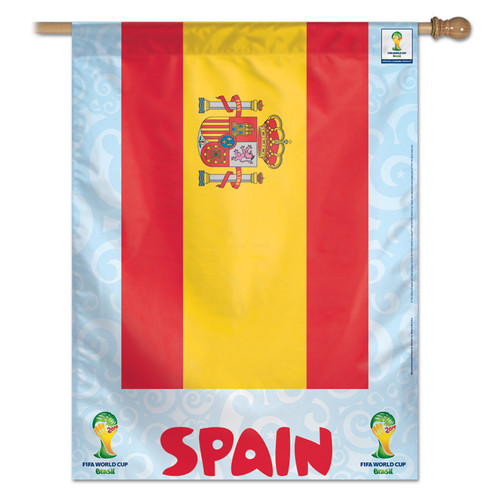 FIFA World Cup Team Spain Banner Flag