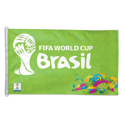 FIFA World Cup Event Logo Flag 3ft x 5ft Printed Polyester