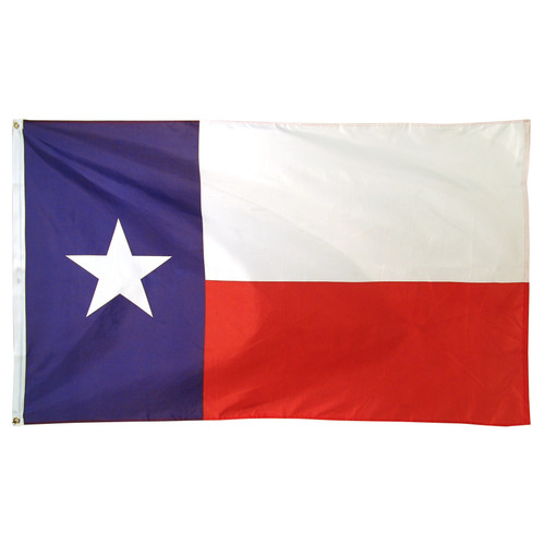 Texas Flag 3ft x 5ft Printed Polyester - US MADE