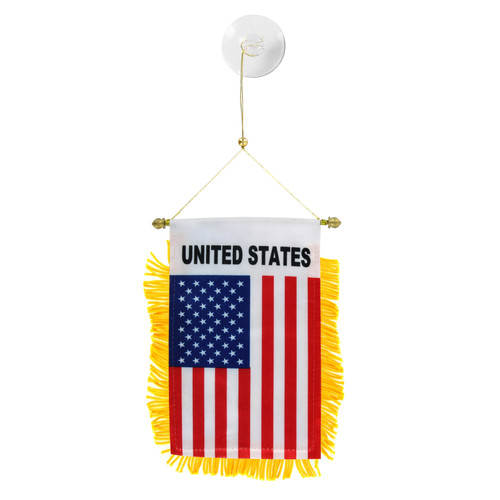United States Mini Window Banner