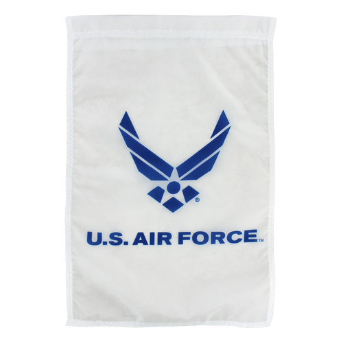 "Air Force Logo Garden Flag 12"" x 18"" Nylon"