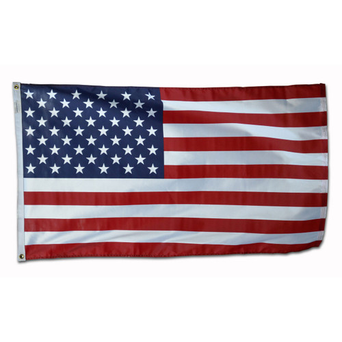 Valley Forge Printed Knit Polyester 3ft x 5ft American Flag