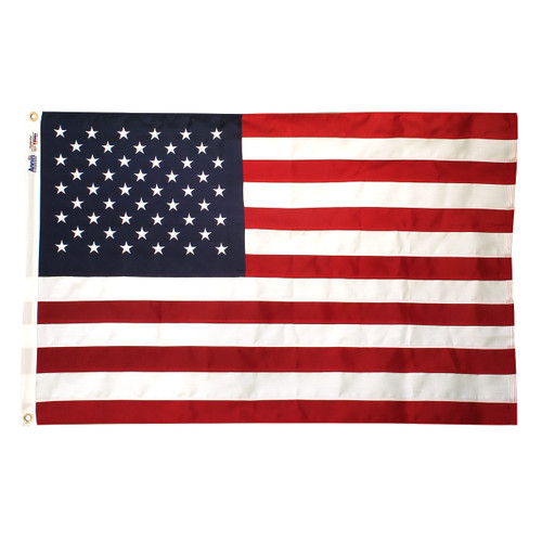 American Tough Tex Flag 5ft x 9.5ft Polyester By Annin
