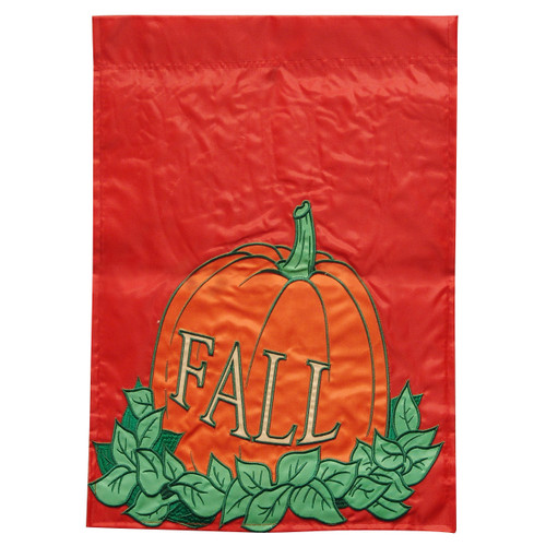 Fall Pumpkins Garden Flag - 13in x 18in