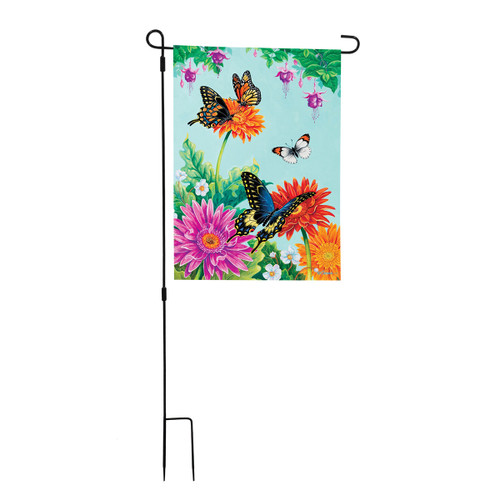 3 Piece Large Garden Flagpole
