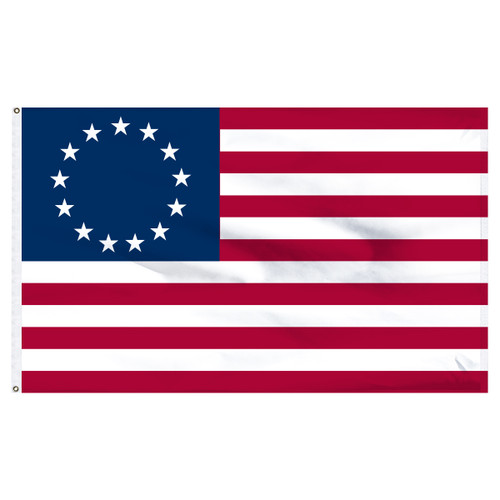 "Betsy Ross flag 12"" x 18"" Printed Nylon Flag"