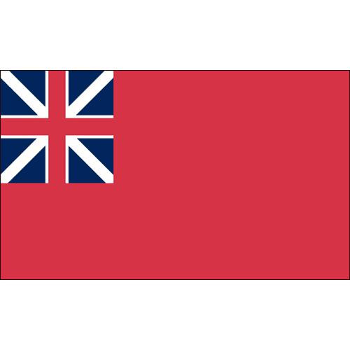 British Red Ensign - Historical Flag 3ft x 5ft Printed Polyester