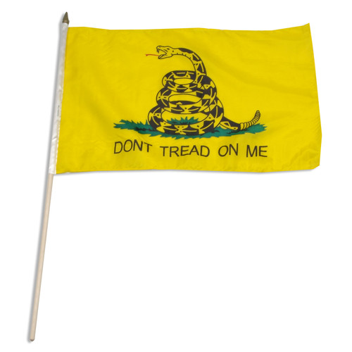 Gadsden Flag 12 x 18 Inch - Dont Tread On Me