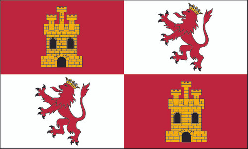 Royal Standard of Spain 3ft x 5ft Printed Polyester