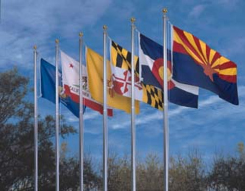 Nylon 4ft x 6ft 50 State flag Set