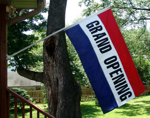 Grand Opening Flag