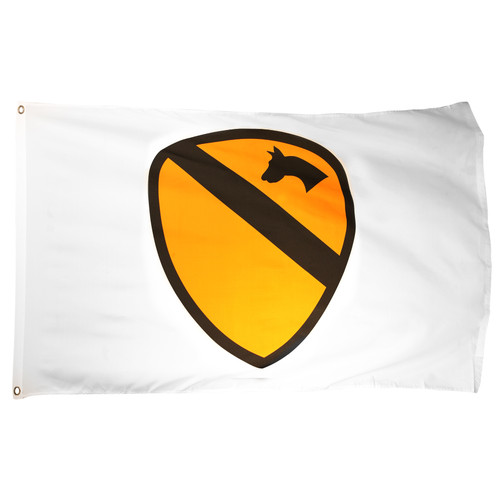 1st Cavalry Flag 3ft x 5ft Printed Polyester