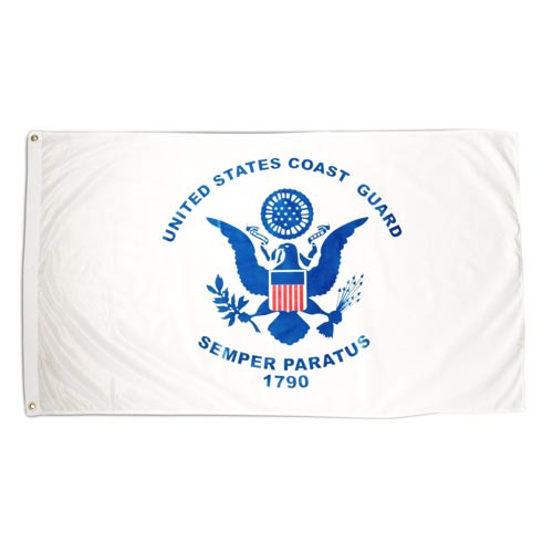 Coast Guard 3ft x 5ft Printed Polyester Flag