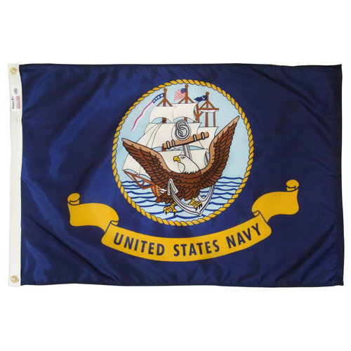 Navy Flag 2 x 3 feet nylon