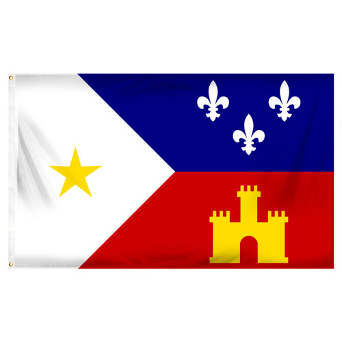 Acadiana (Cajun) 3ft x 5ft Printed Polyester Flag