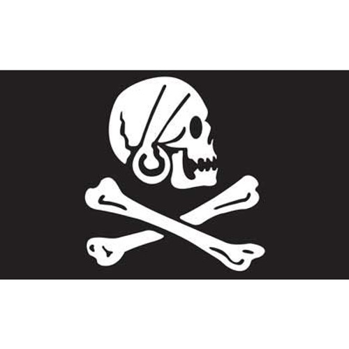 Pirate (Henry Every) Flag 3ft x 5ft printed polyester