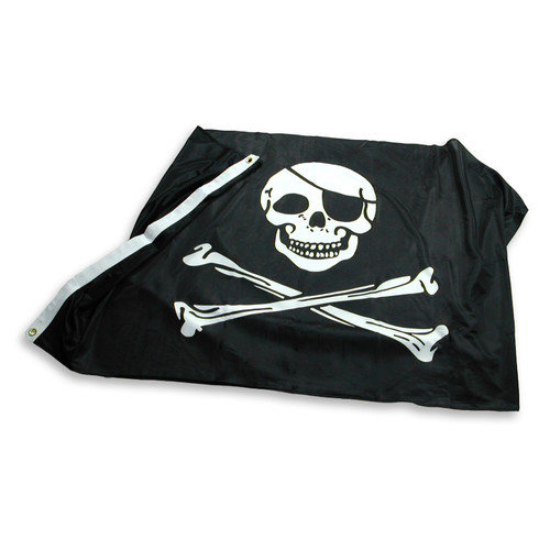 Pirate - Jolly Roger - Flag 3ft x 5ft Super Knit Polyester