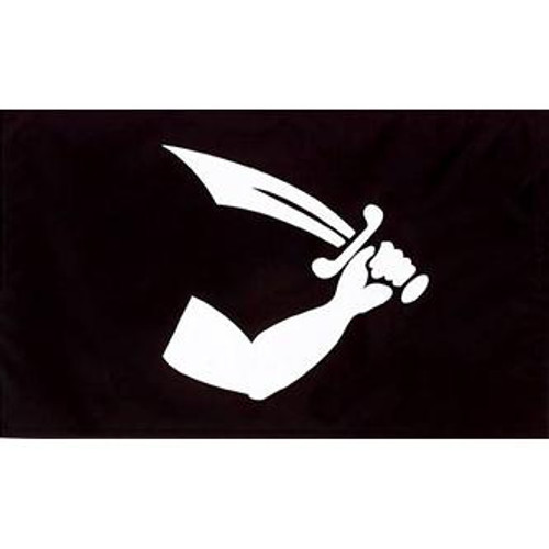 Pirate (Thomas Tew ) Flag 3ft x 5ft printed polyester