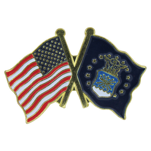 US and Air Force Lapel Pin