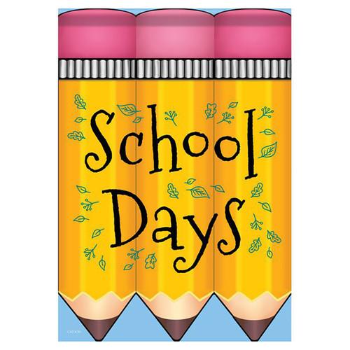 School Days Banner Flag