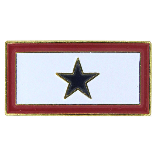 Service Blue Star Lapel Pin