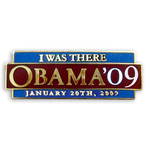 Barack Obama Lapel Pin -Inauguration Day