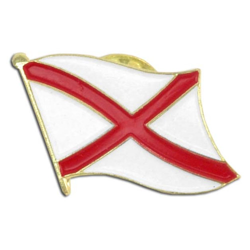 Alabama Flag Lapel Pin