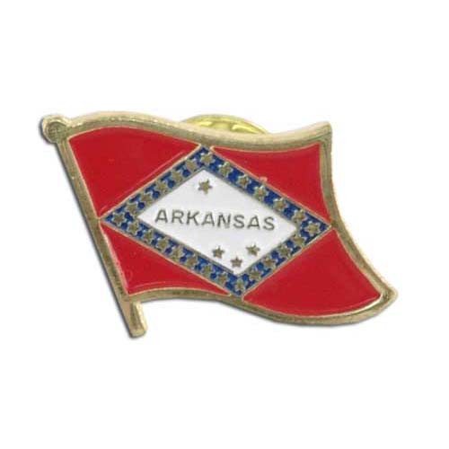 Arkansas Flag Lapel Pin